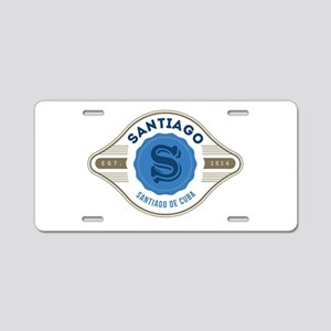 Santiago de Cuba Retro Badge Aluminum License Plat
