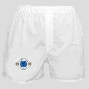 Santiago de Cuba Retro Badge Boxer Shorts