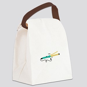 Curling Iron Hair Styling Tool Canvas Lunch Bag