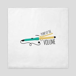 Pump Up The Volume Queen Duvet
