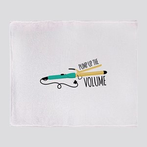Pump Up The Volume Throw Blanket