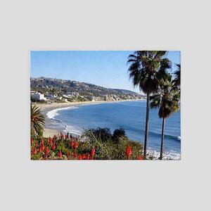 Laguna beach,california 5'x7'Area Rug