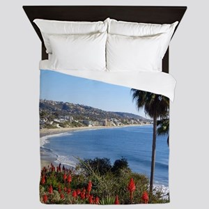 Laguna beach,california Queen Duvet