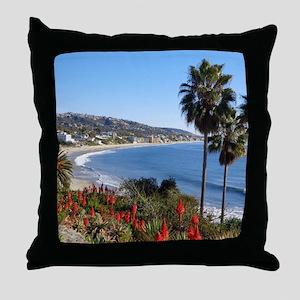 Laguna beach,california Throw Pillow