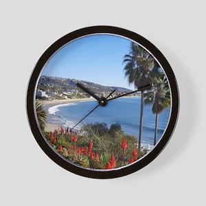 Laguna beach,california Wall Clock