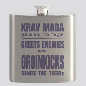 krav maga regular kicks to the groin Flask