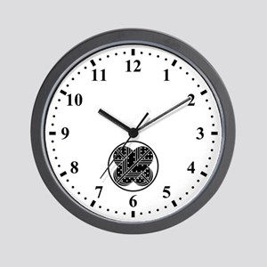 Harima asano hawk feathers Wall Clock