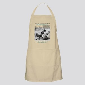You are off your rocker, but are you nuts en Apron