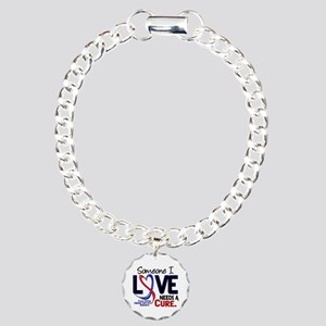 CHD Needs a Cure 2 Charm Bracelet, One Charm