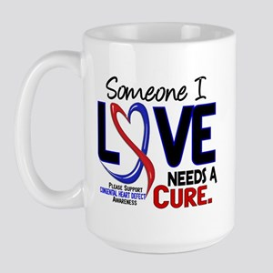 CHD Needs a Cure 2 Large Mug