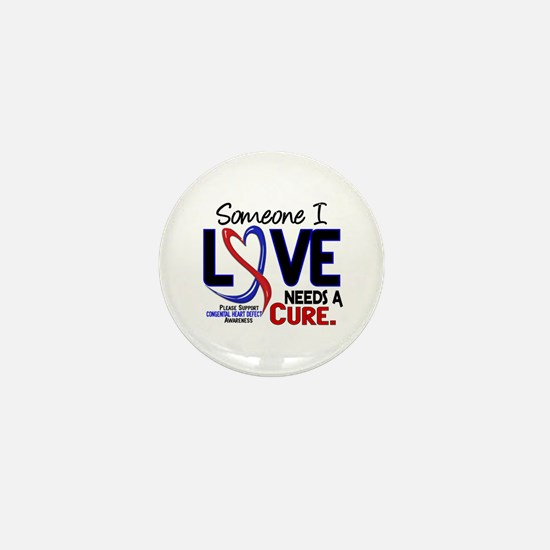 CHD Needs a Cure 2 Mini Button