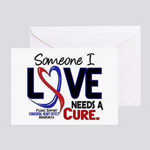 CHD Needs a Cure 2 Greeting Card