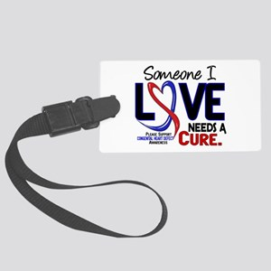 CHD Needs a Cure 2 Large Luggage Tag