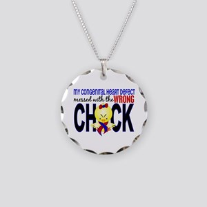 CHD Wrong Chick 1 Necklace Circle Charm