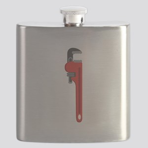Pipe Wrench Plumber Tool Flask