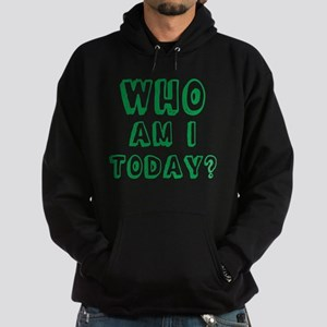 Who am I today - bananaharvest Hoodie (dark)