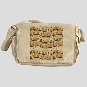 Autumn Owls Messenger Bag