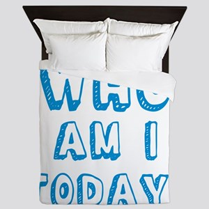 Who am I today - bananaharvest Queen Duvet