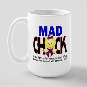 CHD Mad Chick 1 Large Mug