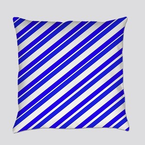 Team Colors 4...Blue Everyday Pillow