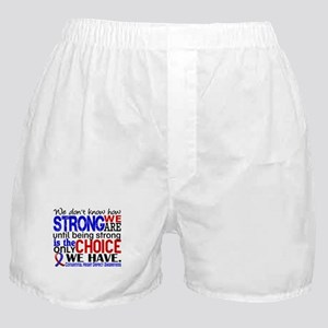 CHD How Strong We Are Boxer Shorts