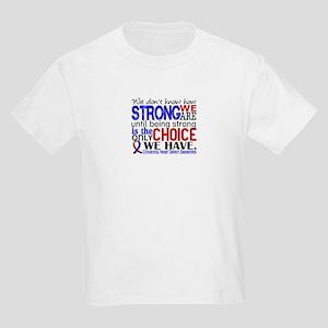 CHD How Strong We Are Kids Light T-Shirt