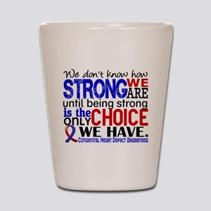 CHD How Strong We Are Shot Glass
