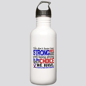 CHD How Strong We Are Stainless Water Bottle 1.0L