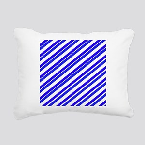Team Colors 4...Blue Rectangular Canvas Pillow