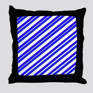 Team Colors 4...Blue Throw Pillow