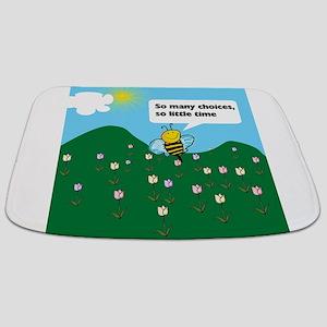Happy Bee Bathmat