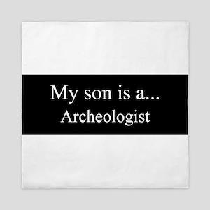 Son - Archeologist Queen Duvet