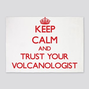 Keep Calm and trust your Volcanologist 5'x7'Area R
