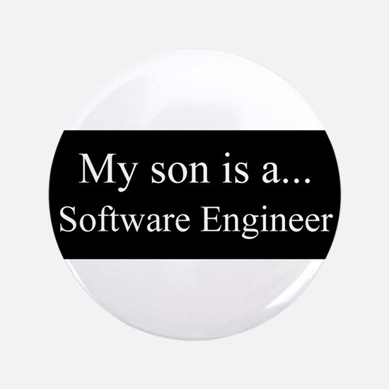 """Son - Software Engineer 3.5"""" Button"""