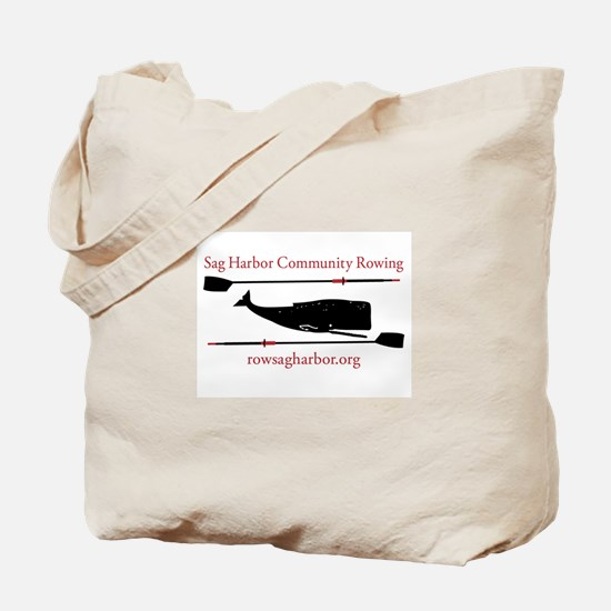 Sag Harbor Community Rowing Logo Tote Bag