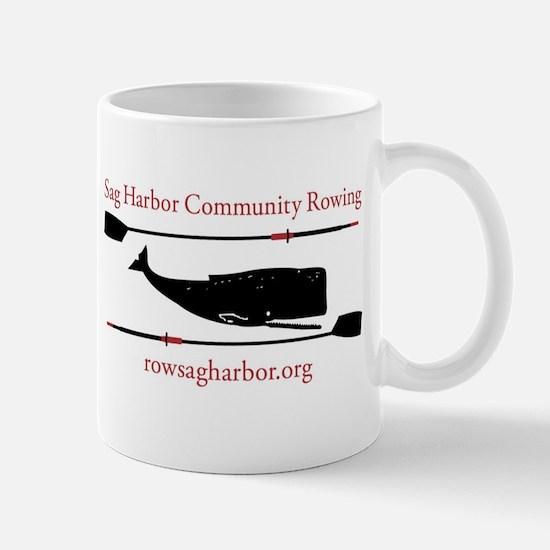 Sag Harbor Community Rowing Logo Mugs
