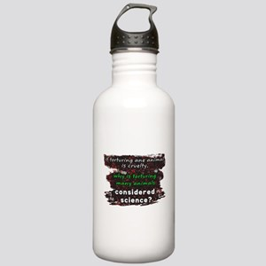 Animal Cruelty Stainless Water Bottle 1.0L