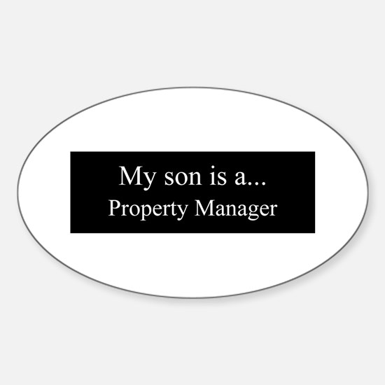 Son - Property Manager Decal