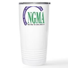Ngma Logo Stainless Steel Travel Mug