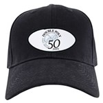 Double Poly Logo Black Cap