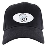 Double Poly Logo Black Cap