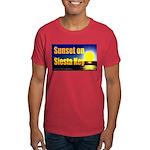 Sunset On Siesta Key Dark T-Shirt
