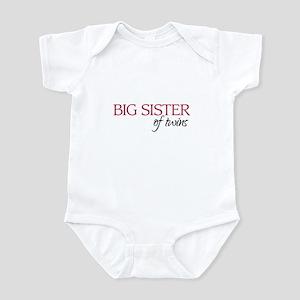 Big Sister of Twins - Infant Bodysuit