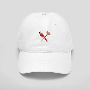 Pipe Wrench Toilet Plunger Baseball Cap
