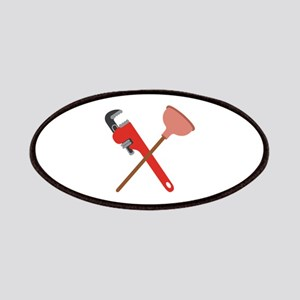 Pipe Wrench Toilet Plunger Patches