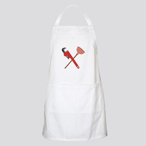 Pipe Wrench Toilet Plunger Apron