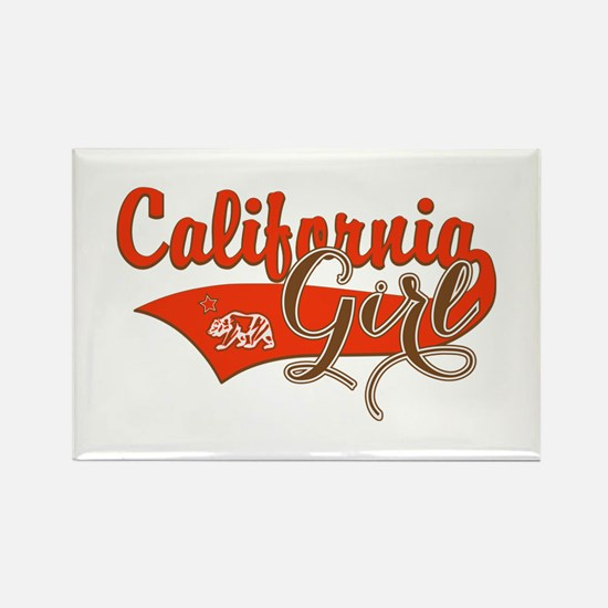 California Girl Rectangle Magnet (10 pack)