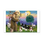 St Francis - 4 Cavaliers 20x12 Wall Decal