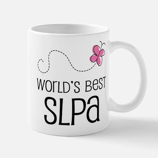 World's Best SLPA Mug