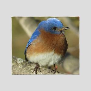 Bluebird Throw Blanket